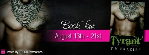 Tyrant book Tour