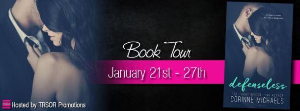 defenseless book tour