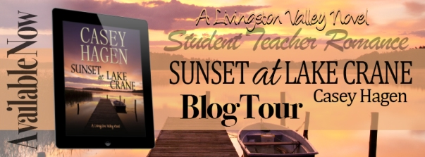 SunsetOn Lake Crane Blog Tour Banner