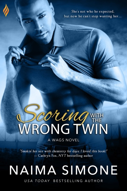 Scoring with the Wrong Twin #1 Cover
