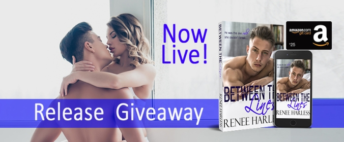 Between the Lines Release Giveaway