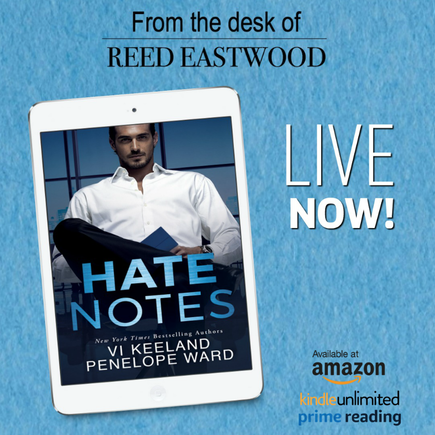 Hate Notes By Vi Keeland Penelope Ward Release Blitz W Two 5