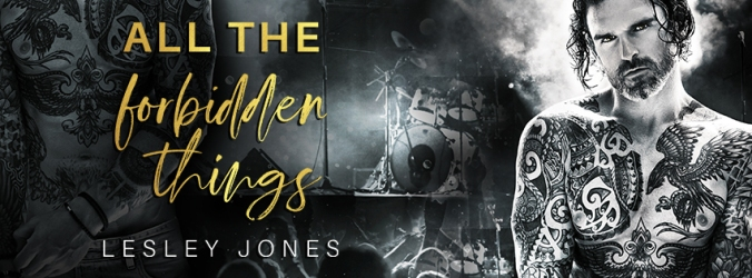All The Forbidden Things - Banner Lesley Jones - Social Banner