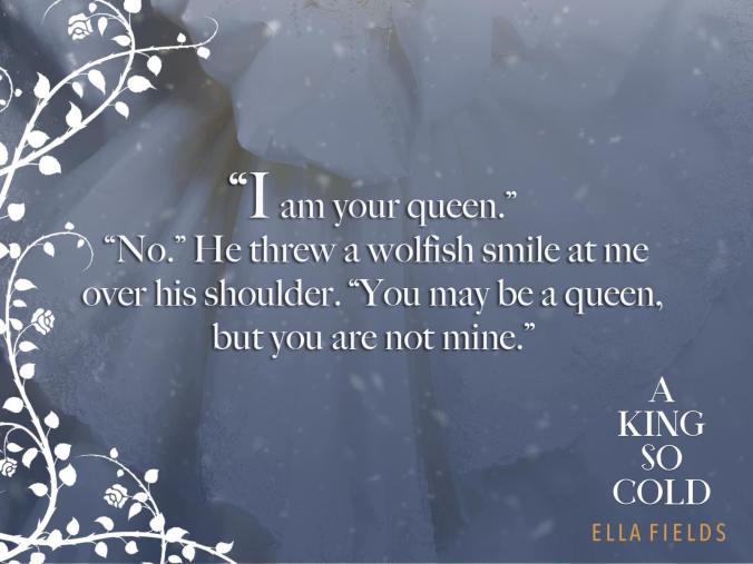 A king so cold Teaser