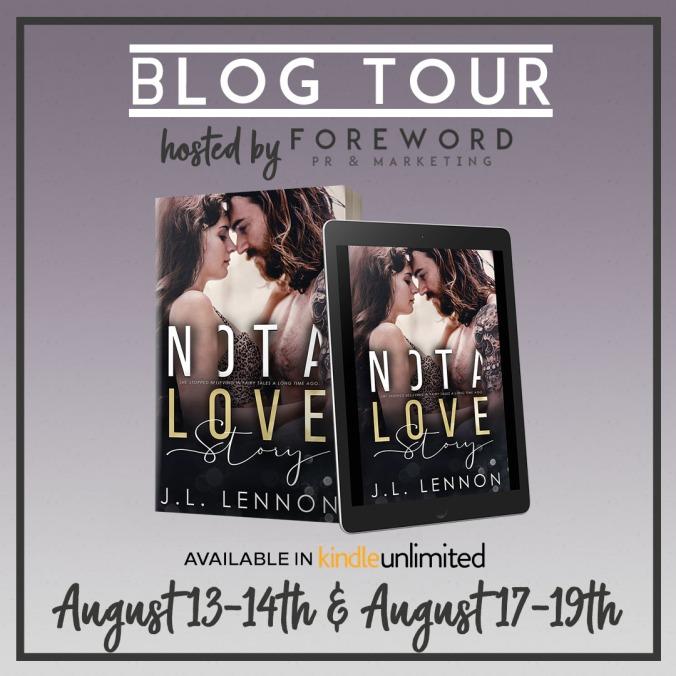 Not A Love Story Blog Tour IG